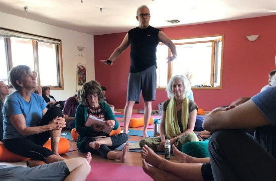 Darvin Showing Whats Up - The Kaiut Yoga Boulder Difference
